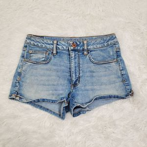 AEO Hi Rise Shortie Super Super Stretch Jean Short